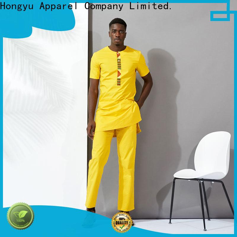yellow custom made t shirts clothes man
