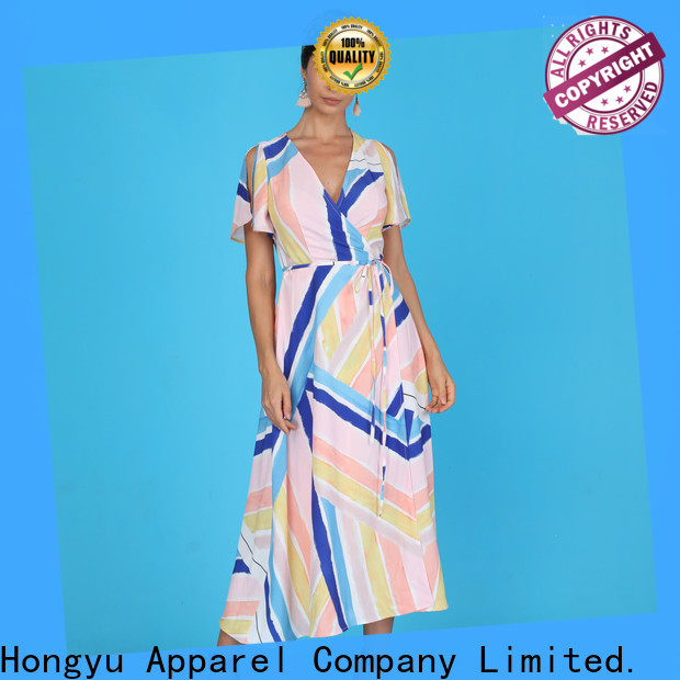 HongYu Apparel midi strapless maxi dress service reception
