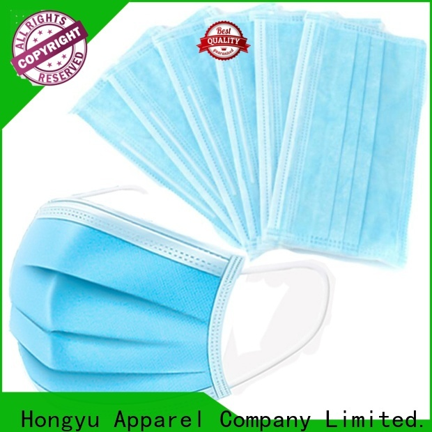 HongYu Apparel best face mask hospital for dust for patient