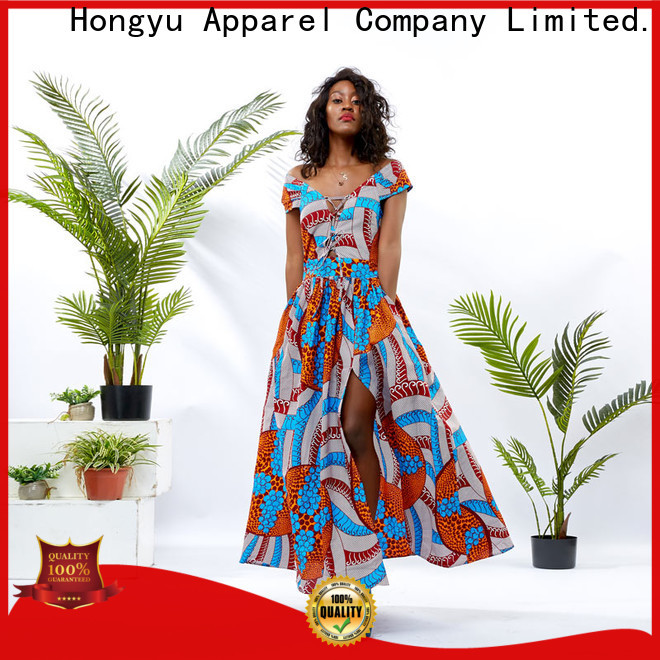 HongYu Apparel trendy clothes for women wholesale mall