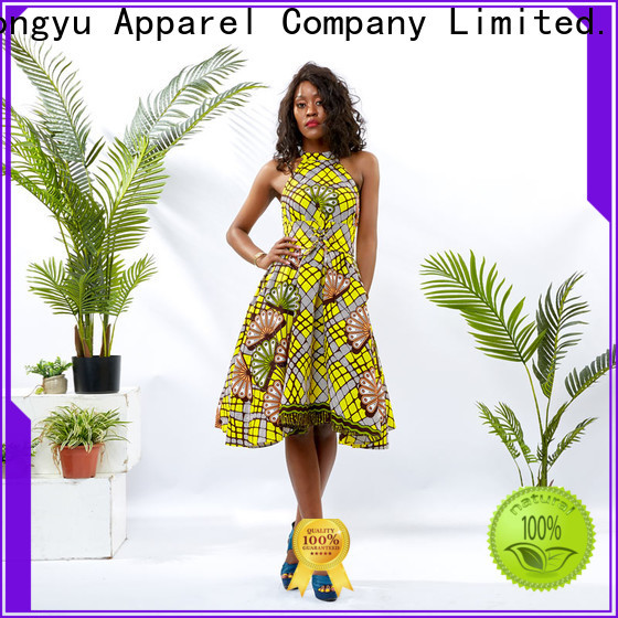 print ladies fashion dress service africa