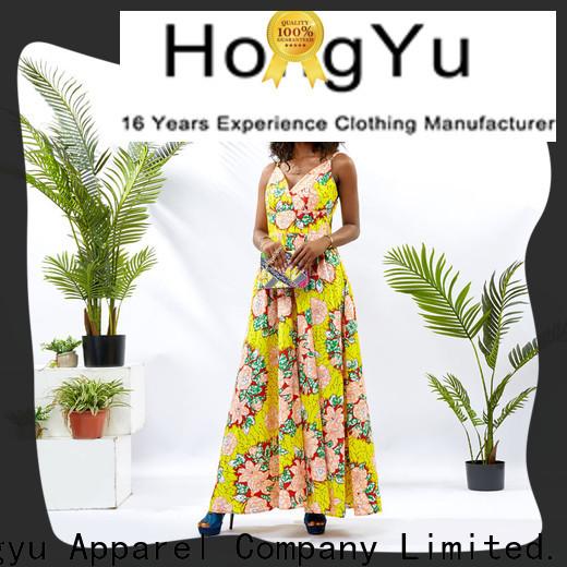 HongYu Apparel spring dresses for women design reception