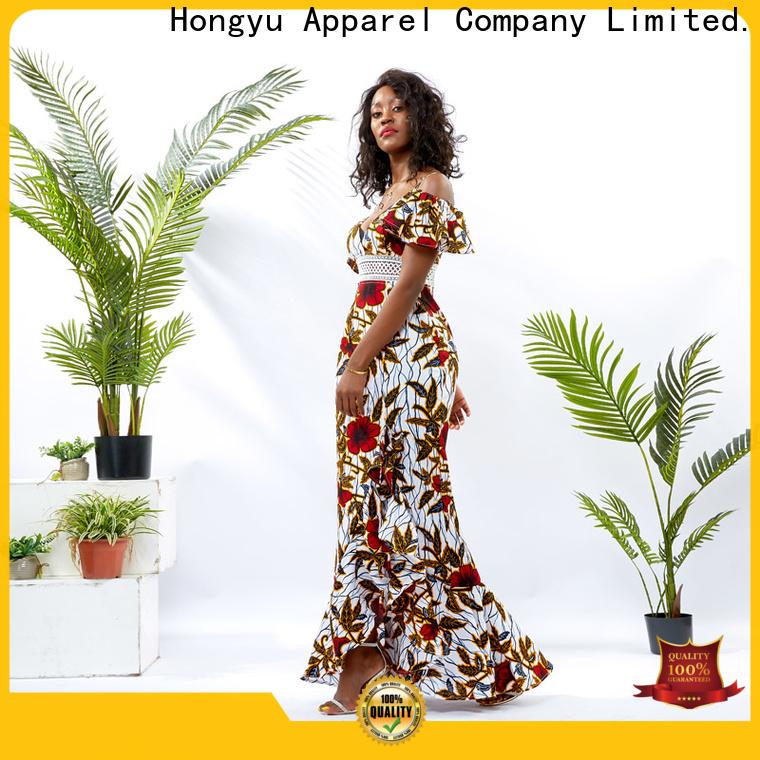 HongYu Apparel african dresses design wholesale mall