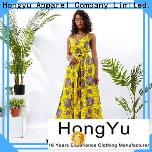 oem african print dresses design reception