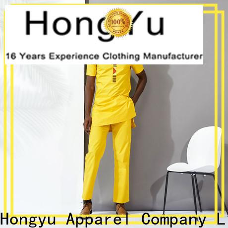 HongYu Apparel mens jogger shorts bottoms work