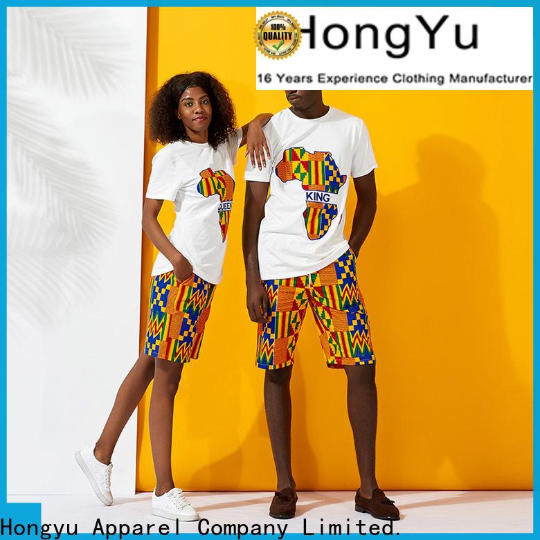 HongYu Apparel matching sweatshirts for couples couples