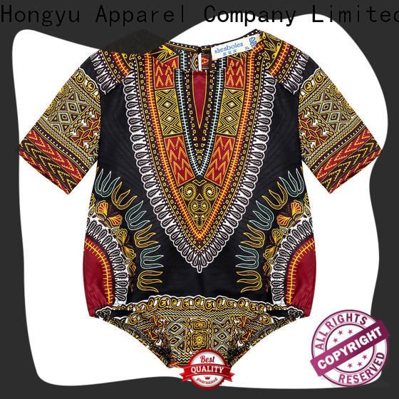 HongYu Apparel personalized romper dress kids design kids