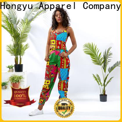 HongYu Apparel 2 piece dress set print africa