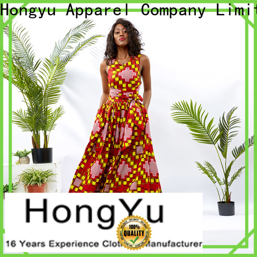 HongYu Apparel women fashion dress wholesale africa