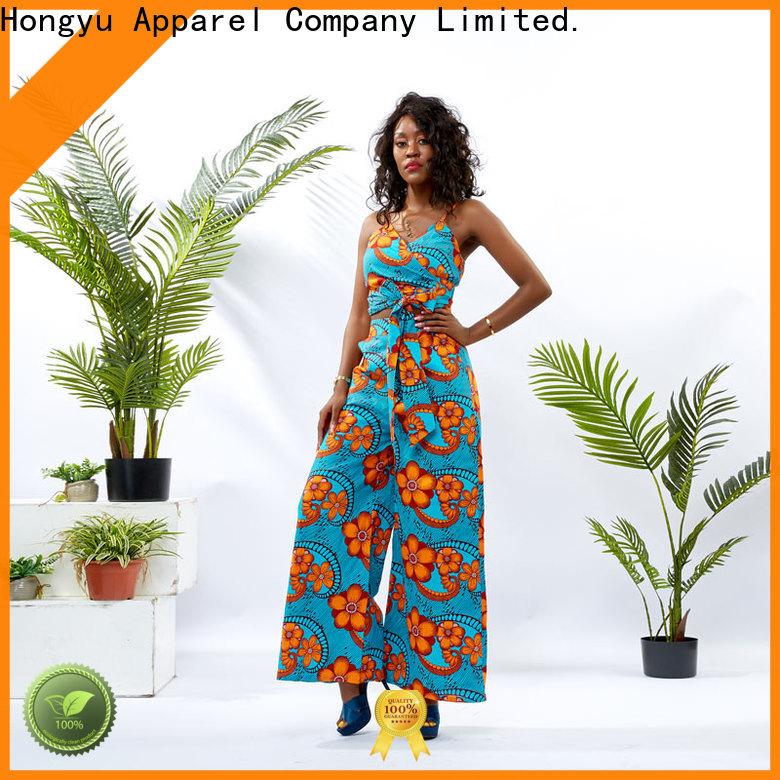 HongYu Apparel two piece pants set women women