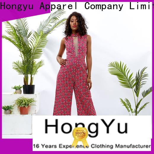 HongYu Apparel ankara long sleeve jumpsuits for women romper africa