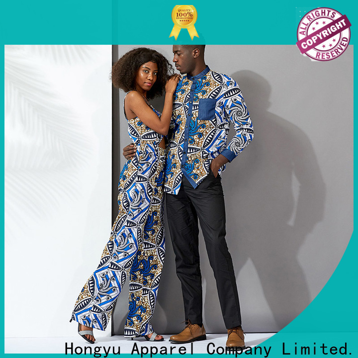 HongYu Apparel matching couple dress couples