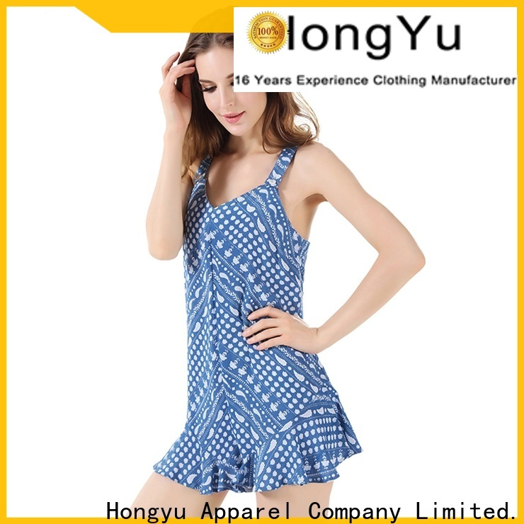 HongYu Apparel rayon classy jumpsuits for women design travel