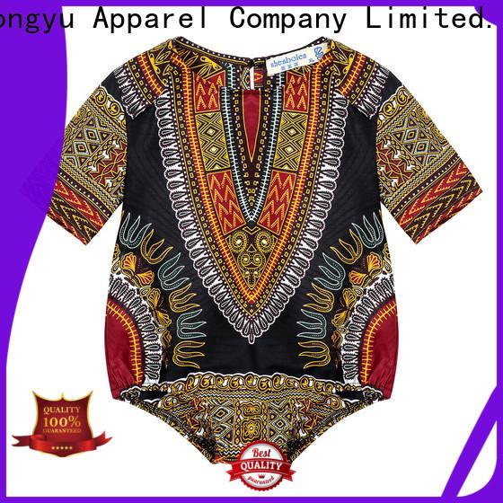 HongYu Apparel 100cotton kids wholesale clothing top kids
