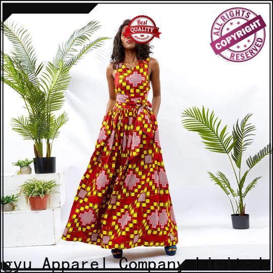 HongYu Apparel african dresses design reception