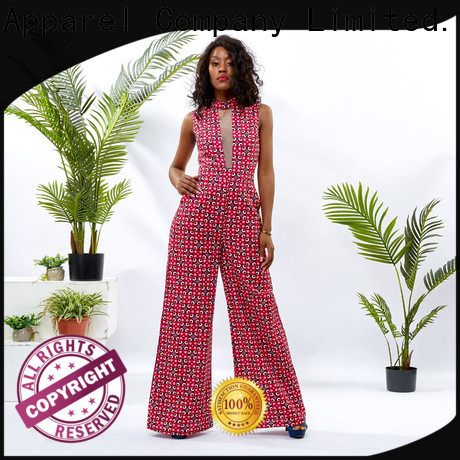 HongYu Apparel fitted jumpsuit womens romper africa