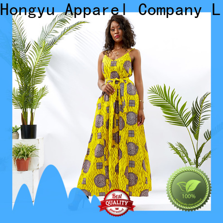 HongYu Apparel ladies dress design africa
