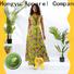 HongYu Apparel floral ladies dress design reception