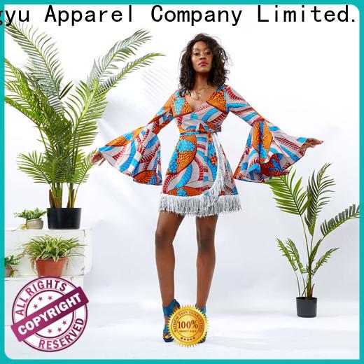 HongYu Apparel summer maxi dresses design reception