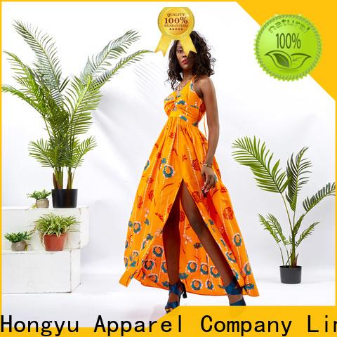 HongYu Apparel african print dresses service africa