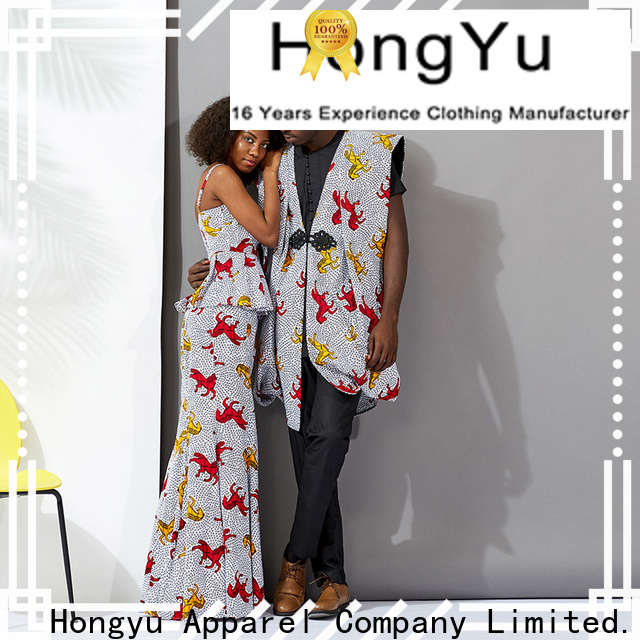 HongYu Apparel best couple shirt clothes ladies