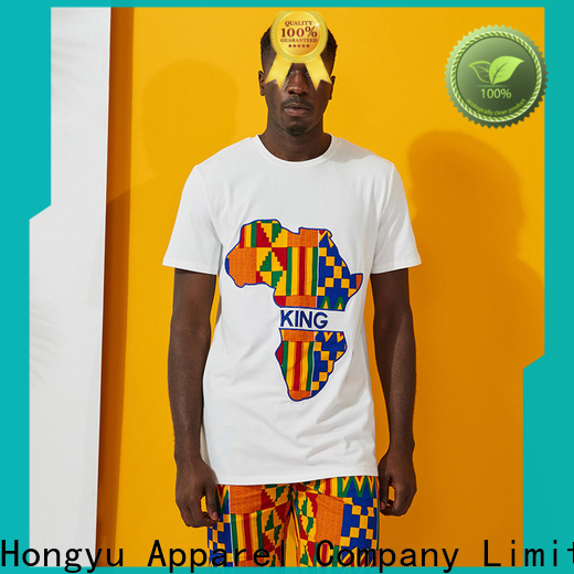 HongYu Apparel pieces personalized shirts clothes man