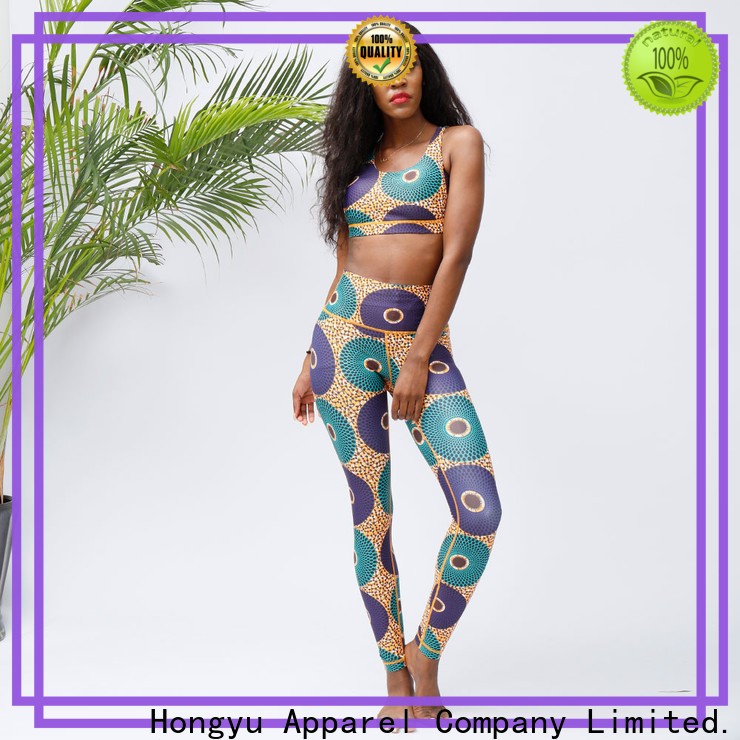 HongYu Apparel wholesale workout tight shorts for man