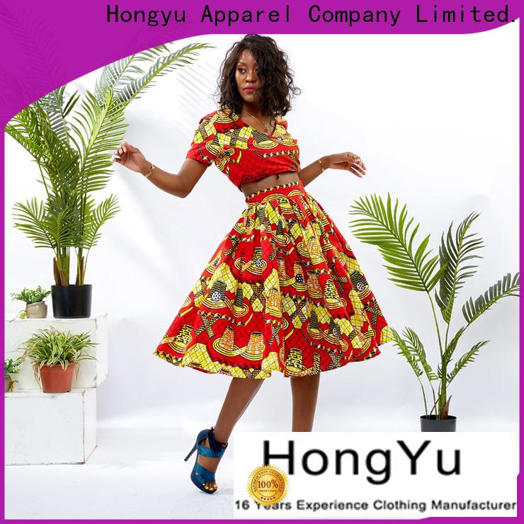 HongYu Apparel two piece dresses casual design travel