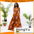 HongYu Apparel backless african attire dresses designs wholesale reception