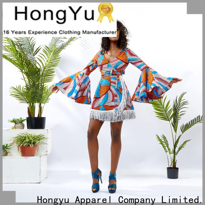 floral african print dress designs service africa