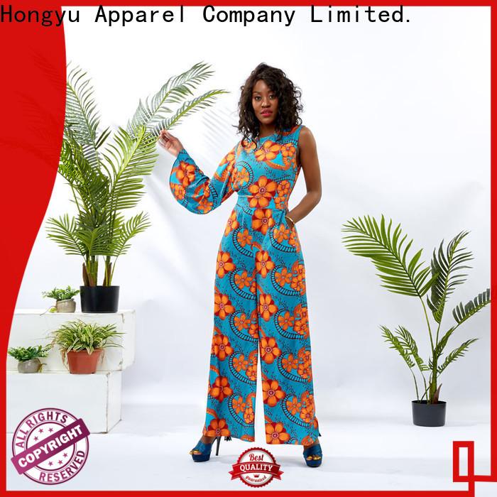 HongYu Apparel oem ladies casual jumpsuits service africa
