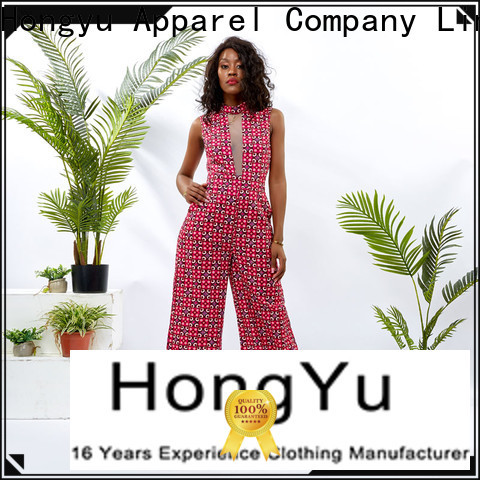 HongYu Apparel customize classy jumpsuits for women romper africa