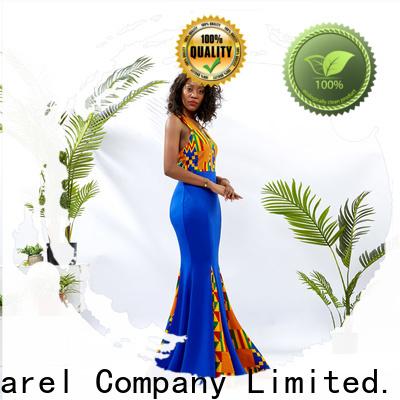 HongYu Apparel wax modern african dresses design reception