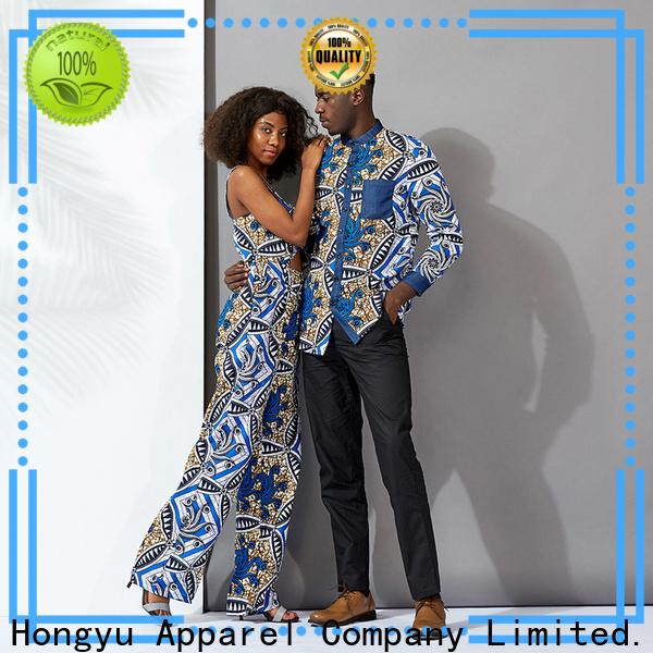 HongYu Apparel couple wear clothes men