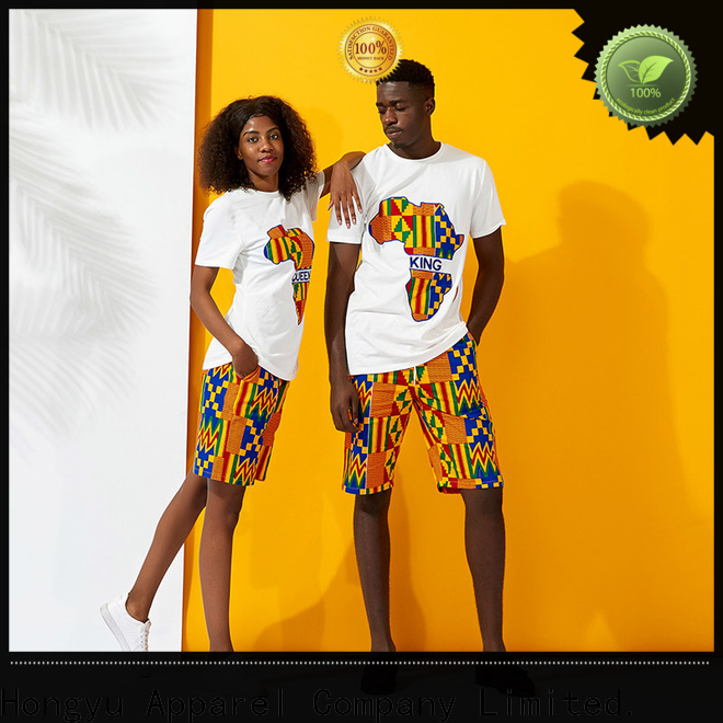 HongYu Apparel couple casual wear design men