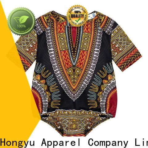 HongYu Apparel dashiki kids dress design dress girls