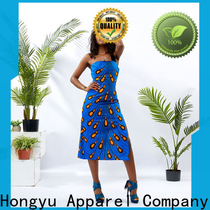 HongYu Apparel stylish dress for women service africa