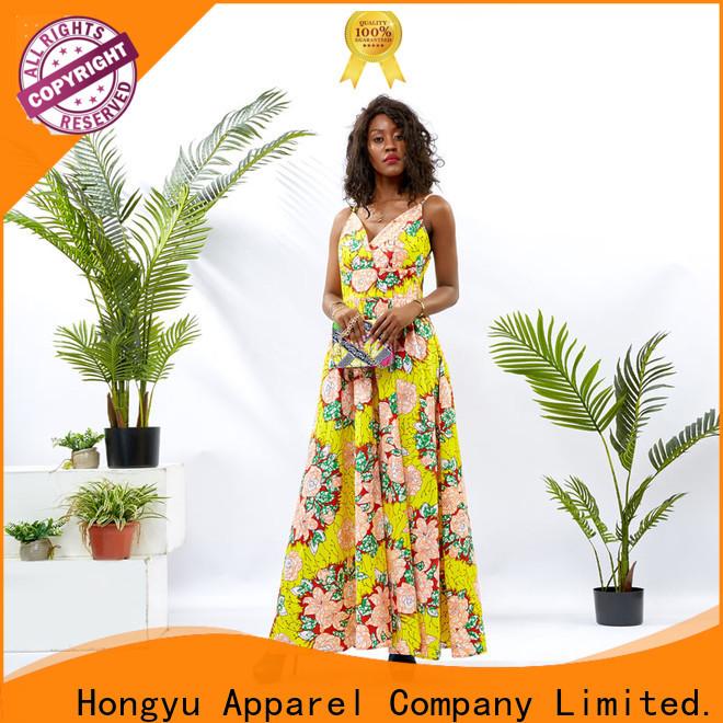 HongYu Apparel long maxi dresses wholesale reception
