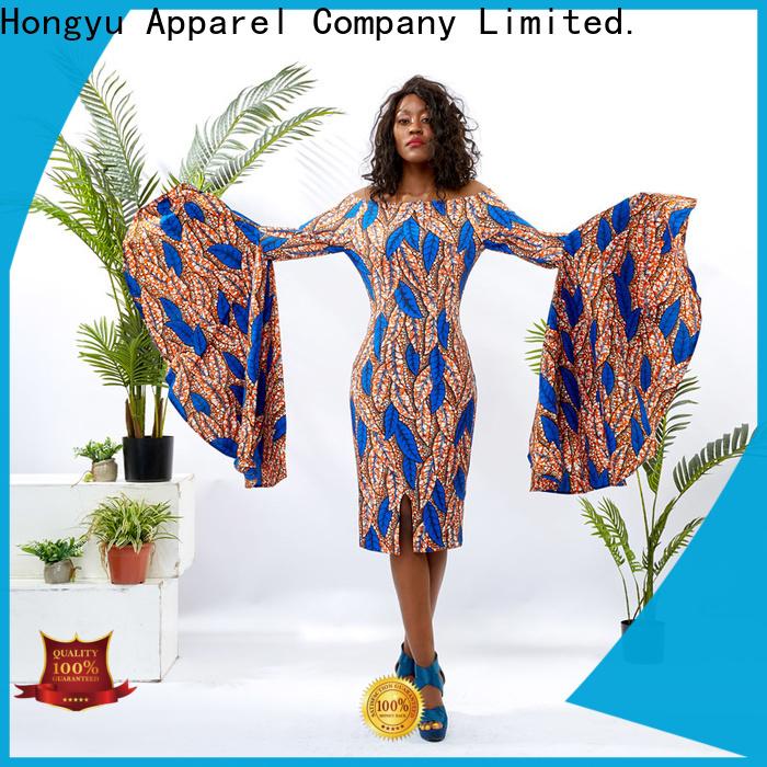 HongYu Apparel midi beautiful african dresses wholesale mall