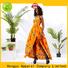 print off the shoulder floral dress wholesale africa