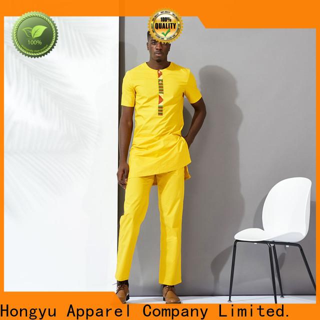 HongYu Apparel custom tees short home