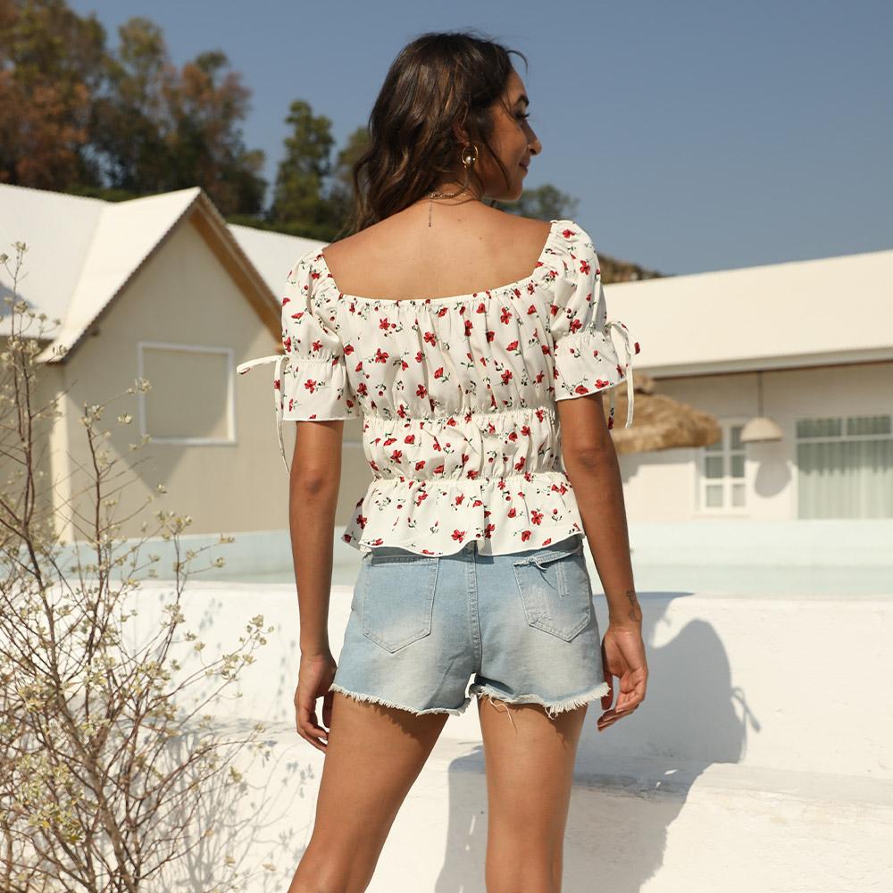 HongYu Apparel dressy tops for women shoulder africa-1