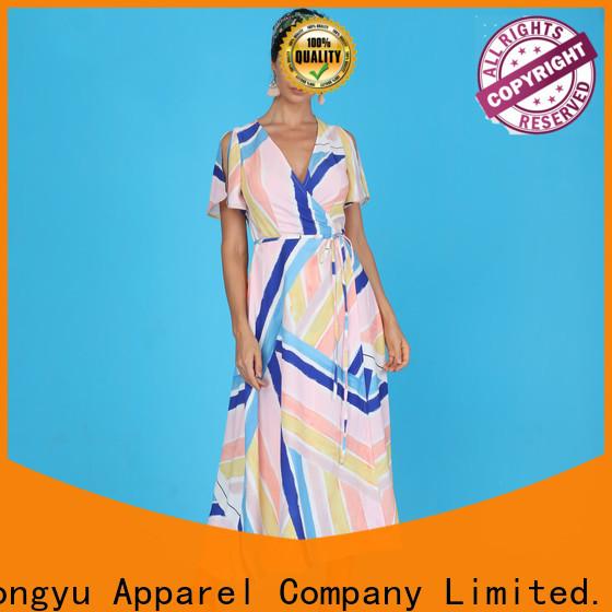 HongYu Apparel ankara ladies dress wholesale reception