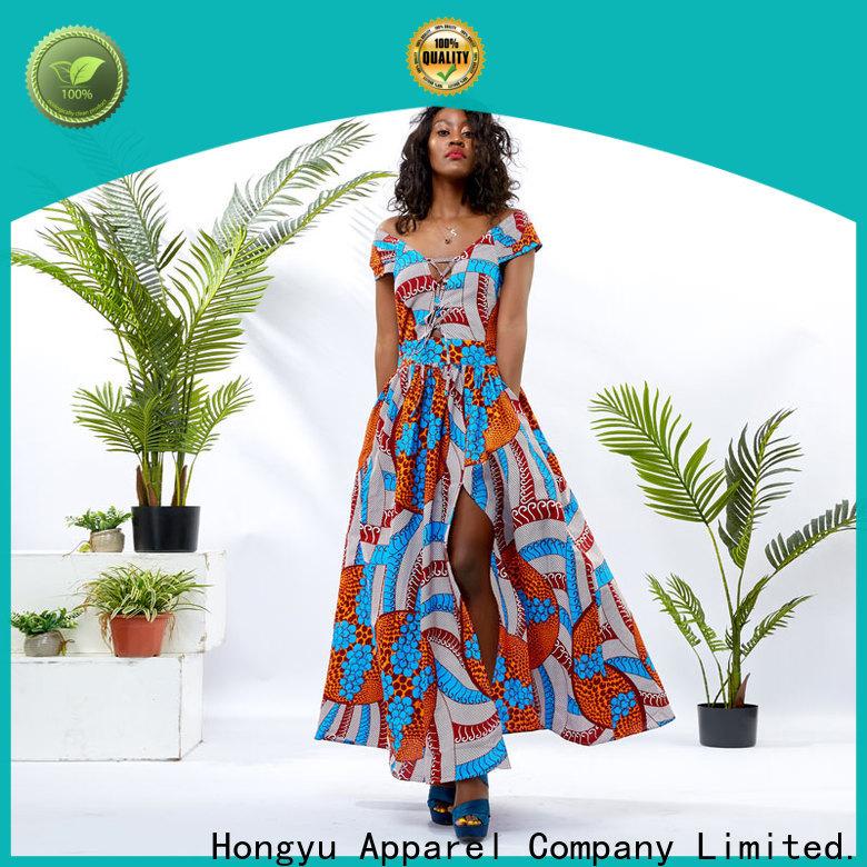 HongYu Apparel clothing factory design africa