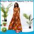 HongYu Apparel pieces summer wrap dress design reception