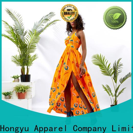 HongYu Apparel design cotton dress design mall