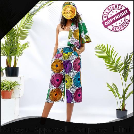 cotton floral midi skirt design africa