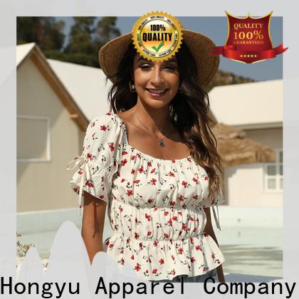 HongYu Apparel dressy tops for women shoulder africa