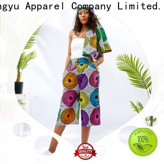 HongYu Apparel cotton women pants design travel