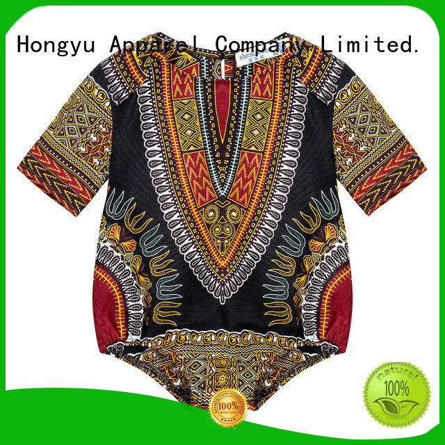HongYu Apparel kids romper design boys